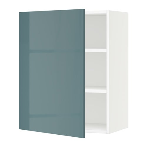 Kallarp High Gloss Gray-turquoise