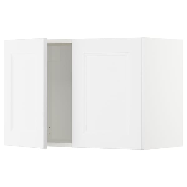 SEKTION Wall cabinet with 2 doors, white/Axstad matt white, 30x15x20 ""