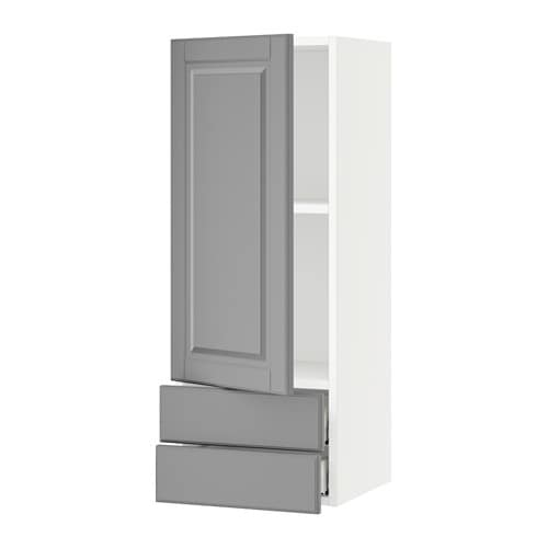 Kitchen Wall Cabinets With Drawers: SEKTION Wall Cabinet With Door & 2 Drawers