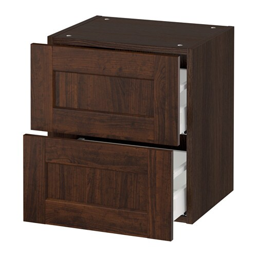 Ikea Kitchen Wall Storage: SEKTION Wall Cabinet With 2 Drawers