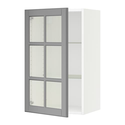Sektion Wall Cabinet With Gl Door