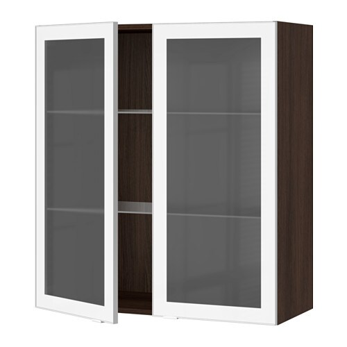Cabinets with frosted glass doors home design ideas and pictures sektion wall cabinet with 2 glass doors ikea you can customize spacing as needed because planetlyrics Images