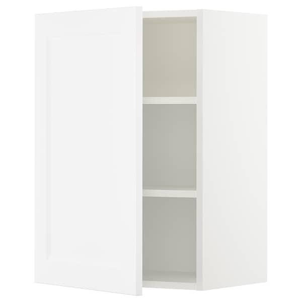 "SEKTION wall cabinet white/Axstad matt white 21 "" 15 "" 15 1/2 "" 30 """