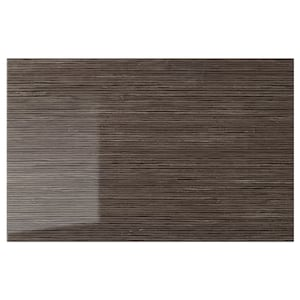 Color: Patterned high gloss brown.