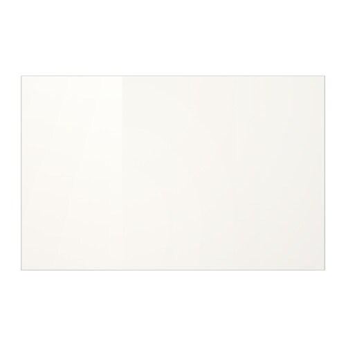 Selsviken Door Drawer Front High Gloss White Ikea