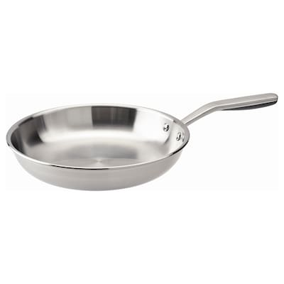 "SENSUELL Frying pan, stainless steel/gray, 11 """