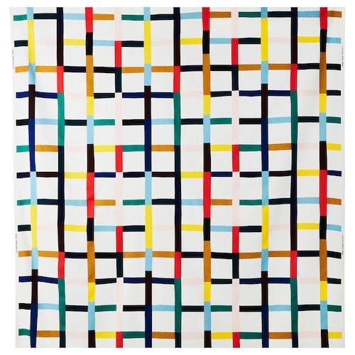 "SIGRUNN fabric white/multicolor 0.75 oz/sq ft 59 "" 32 "" 16.15 sq feet"