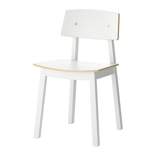 SIGURD Chair IKEA Seat shell covered with melamine, which gives a hard-wearing, easy to clean finish.