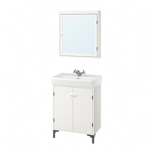 IKEA SILVERÅN / HAMNVIKEN Bathroom furniture, set of 5