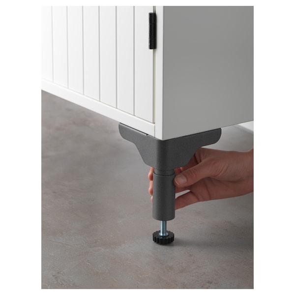 "SILVERÅN / LILLÅNGEN sink cabinet with 2 doors white/Ensen faucet 24 3/8 "" 23 5/8 "" 10 5/8 "" 36 3/4 """