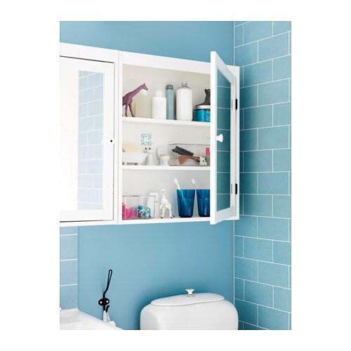 SILVERÅN Mirror Cabinet   White   IKEA