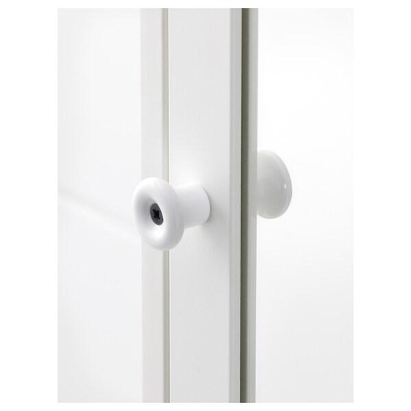 "SILVERÅN Mirror cabinet, white, 23 5/8x5 1/2x26 7/8 """