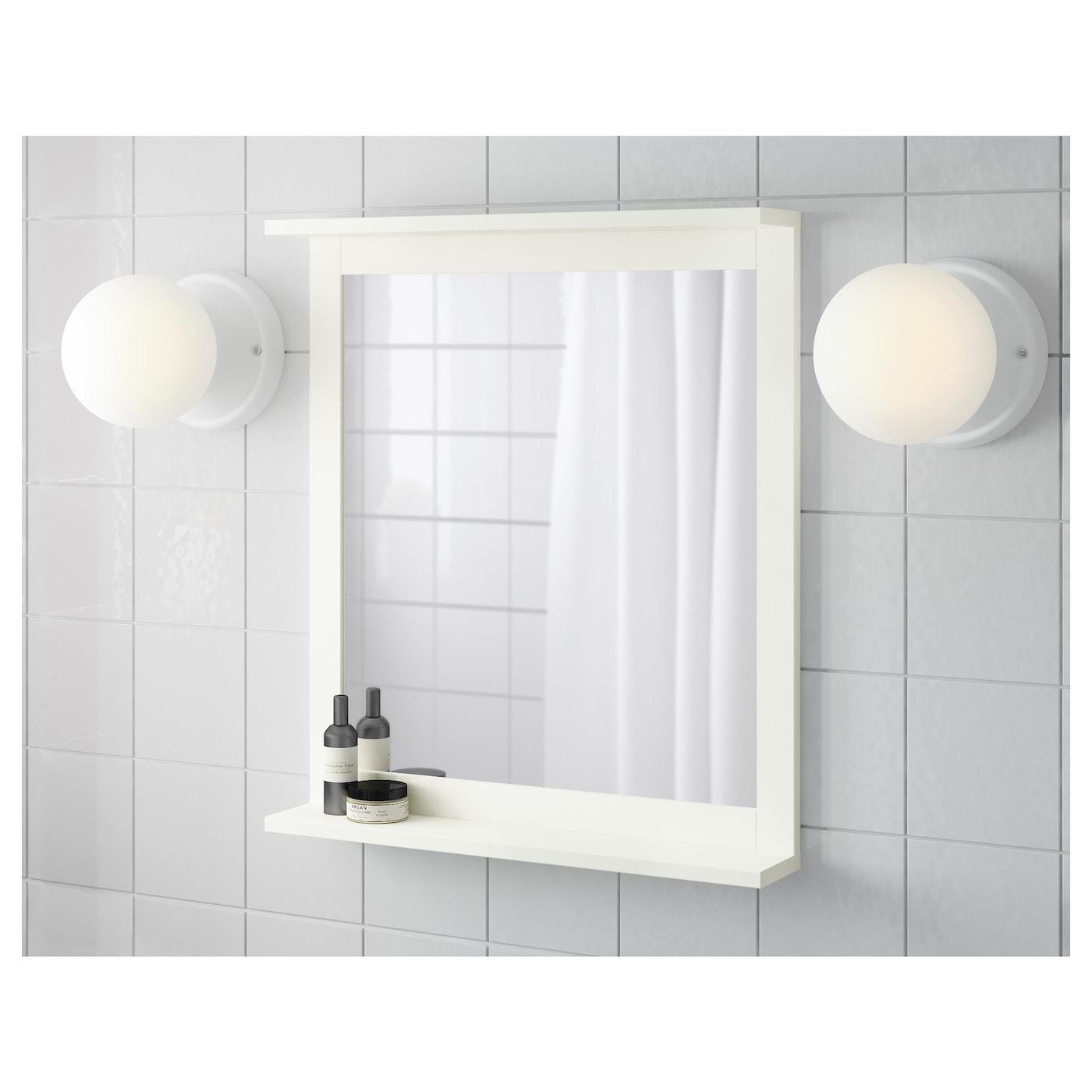 Silverån Mirror With Shelf White 22x25 1 8 Ikea