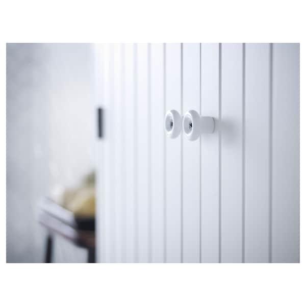 "SILVERÅN sink cabinet with 2 doors white 23 5/8 "" 9 7/8 "" 26 5/8 """