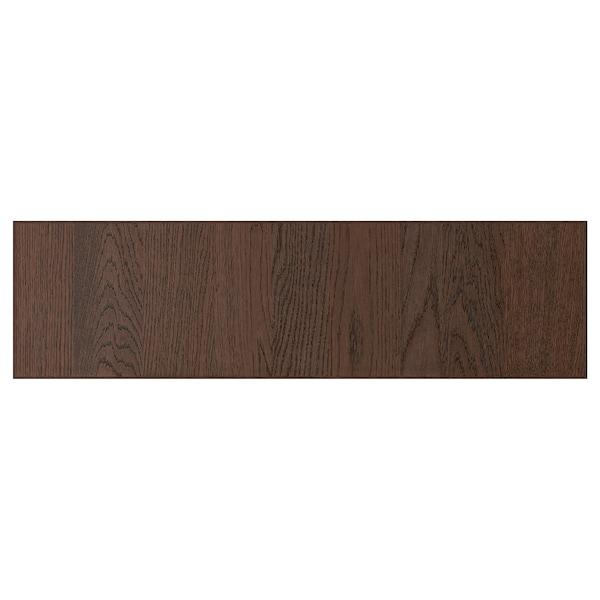 "SINARP Drawer front, brown, 36x10 """
