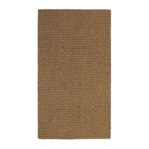 SINDAL Door mat IKEA Easy to keep clean - just vacuum or shake the rug. Latex backing keeps the mat firmly in place.