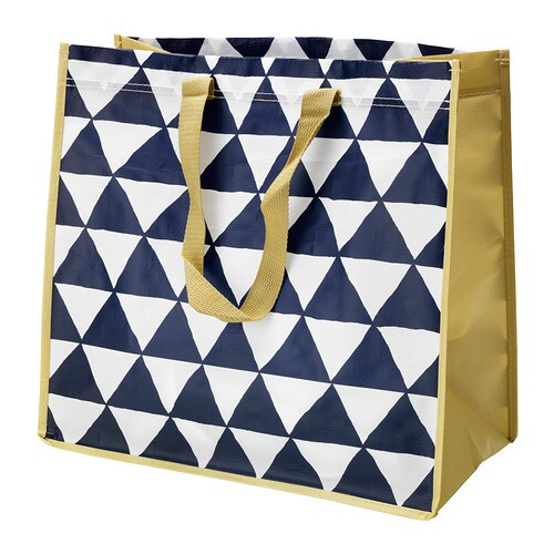 SINGLA Bag IKEA Sorting and transporting is easy with SINGLA bags.