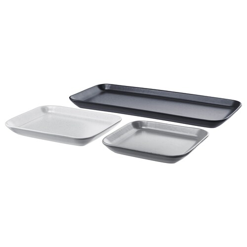 IKEA SINNESRO Candle dish, set of 3