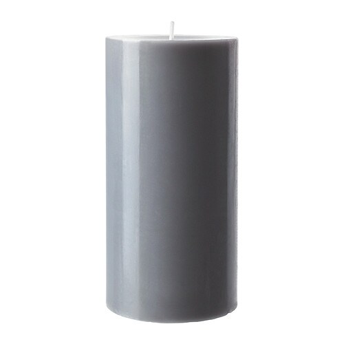 SINNLIG Scented block candle IKEA Creates atmosphere with a pleasant scent of calming spa and warm candlelight.