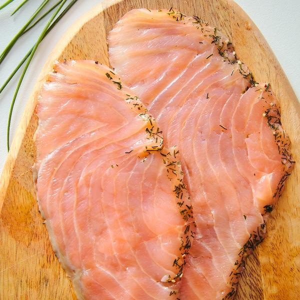 SJÖRAPPORT Cured salmon, ASC certified/frozen