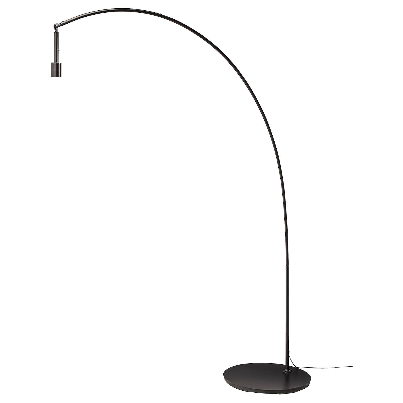 Image of: Skaftet Floor Lamp Base Arched Black Ikea