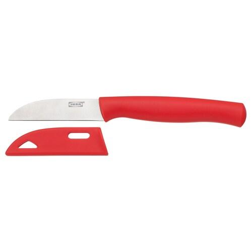 """SKALAD paring knife red 7 """" 3 """""""