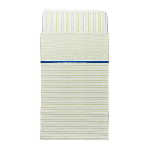 SKÄMTSAM Crib duvet cover/pillowcase IKEA Made of cotton and lyocell . - Ikea Crib Duvet Cover ~ Baby Crib Design Inspiration