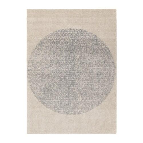 Skarres rug high pile ikea for Grey rug ikea