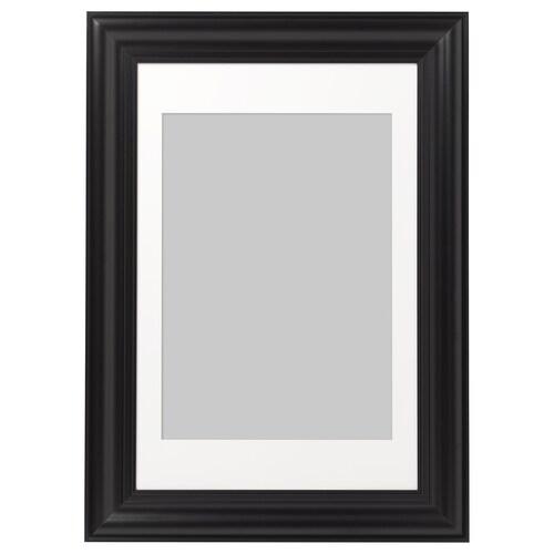 "SKATTEBY frame black 24 "" 35 ¾ "" 19 ¾ "" 27 ½ "" 19 ¼ "" 27 ¼ """