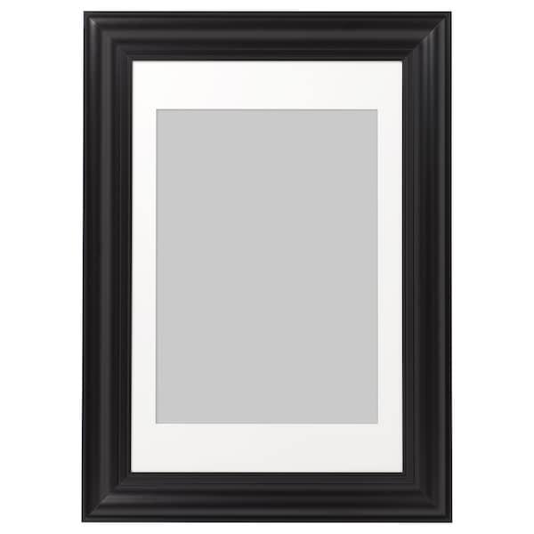 "SKATTEBY Frame, black, 24x35 ¾ """