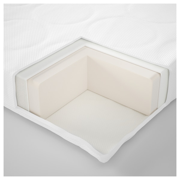 SKÖNAST Foam mattress for crib, 27 1/2x52 ""