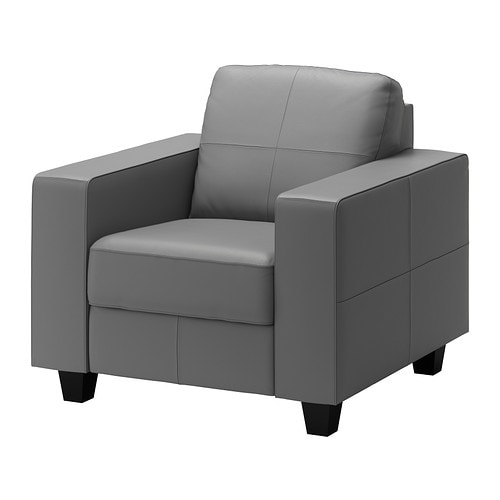 Skogaby chair glose bomstad gray ikea - Fauteuil mellby ikea ...