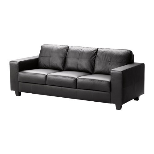 skogaby sofa glose bomstad black ikea. Black Bedroom Furniture Sets. Home Design Ideas