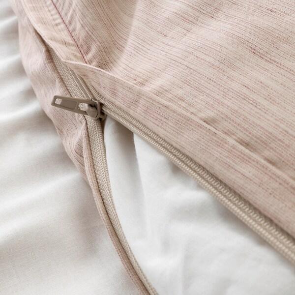 "SKOGSALM duvet cover and pillowcase(s) pink 152 /inch² 1 pack 86 "" 64 "" 20 "" 30 """