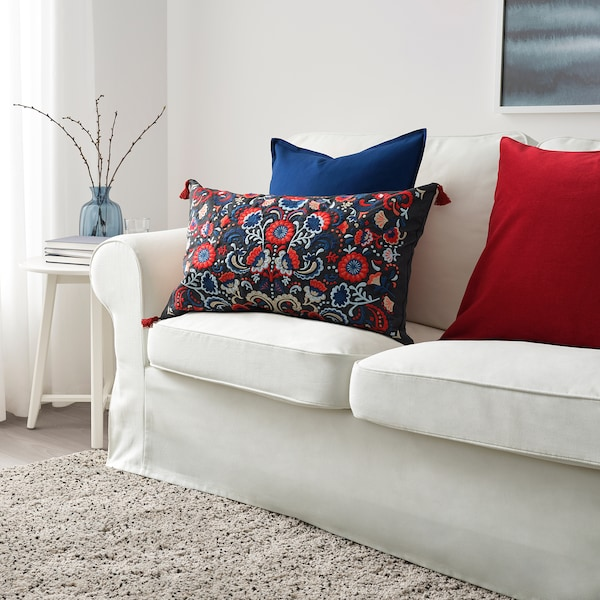 "SKOGSKORN cushion dark gray/multicolor 16 "" 26 "" 32 oz 42 oz"