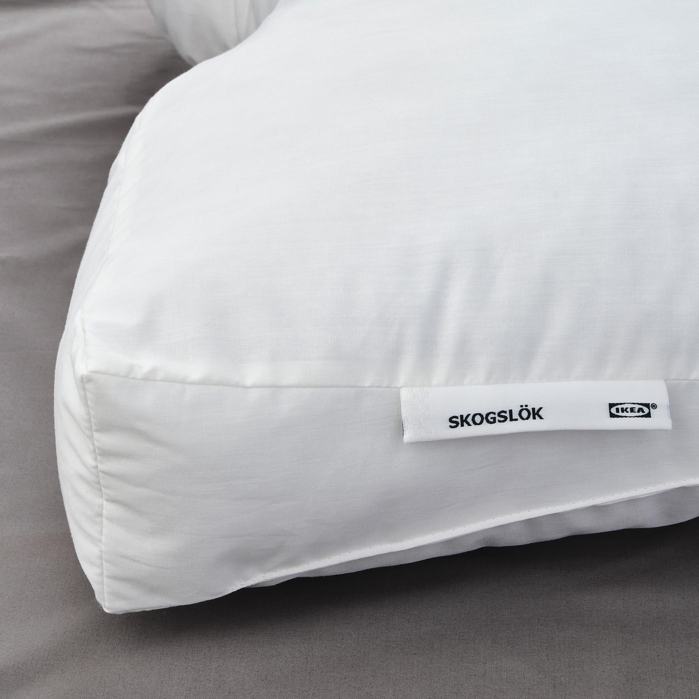 2 X IKEA RAKNÖREL 33x50cm Synthetic Ergonomic Pillow Raknorel pup10