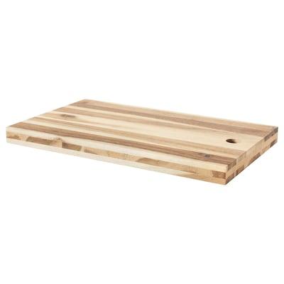 "SKOGSTA chopping board acacia 19 ¾ "" 11 ¾ "" 1 ¼ """