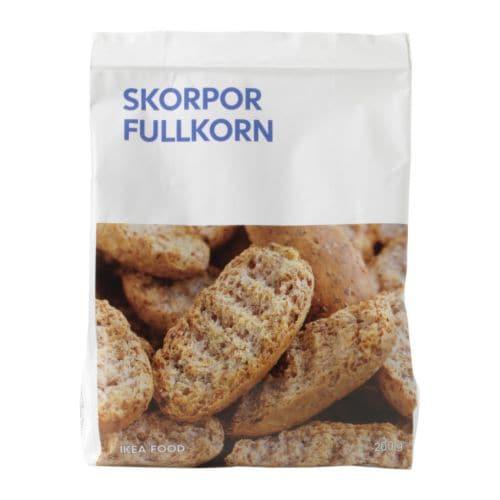 Skorpor Fullkorn Wholemeal Crisprolls Ikea