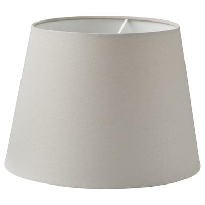 """SKOTTORP lamp shade light gray 13 """" 9 """""""