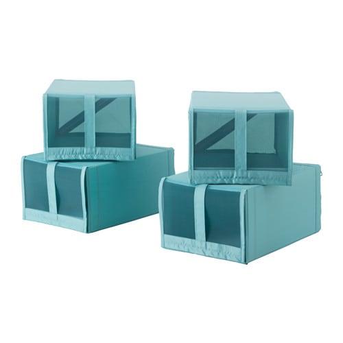 SKUBB Shoe box, light blue light blue 8 ¾x13 ½x6 ¼