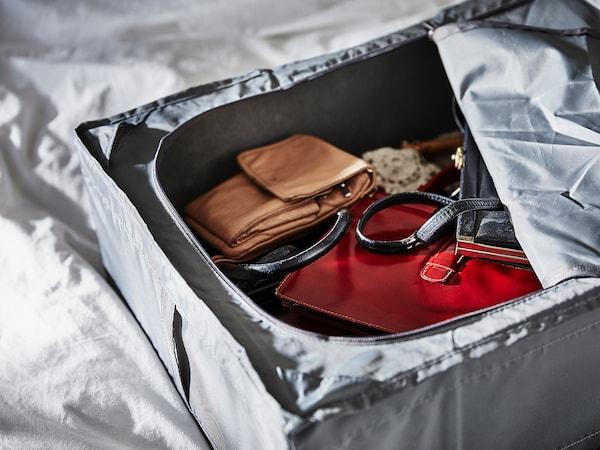 """SKUBB Storage case, dark gray, 27 ¼x21 ¾x7 ½ """""""