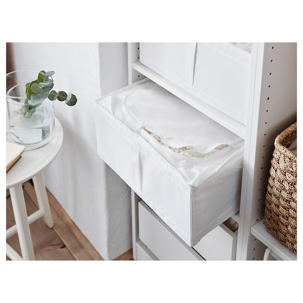 """SKUBB Storage case, white, 17 ¼x21 ¾x7 ½ """""""