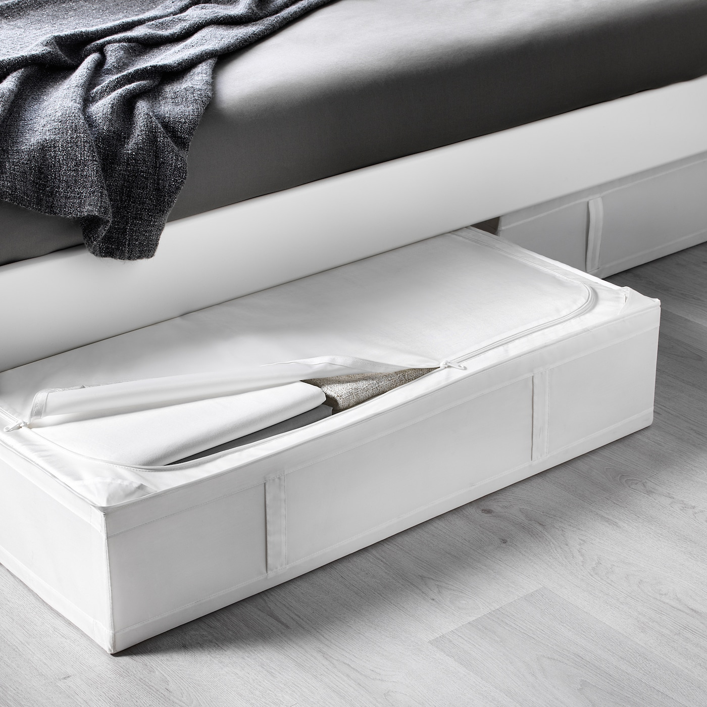 /Storage with 9/compartments White/ IKEA SKUBB/ /22x34x120/cm