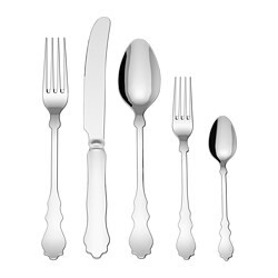 SKUREN 20-piece flatware set, stainless steel