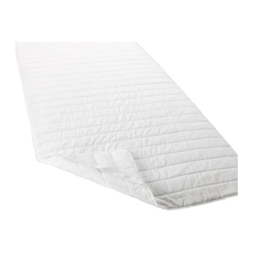 SKYDDA LÄTT Mattress pad IKEA Protects your mattress from stains and dirt and prolongs its life.  Quick to remove, easy to wash.