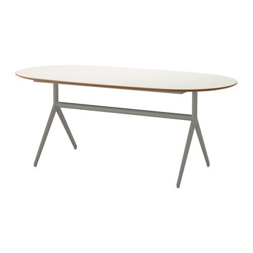SL HULT Table Oppmanna Gray IKEA