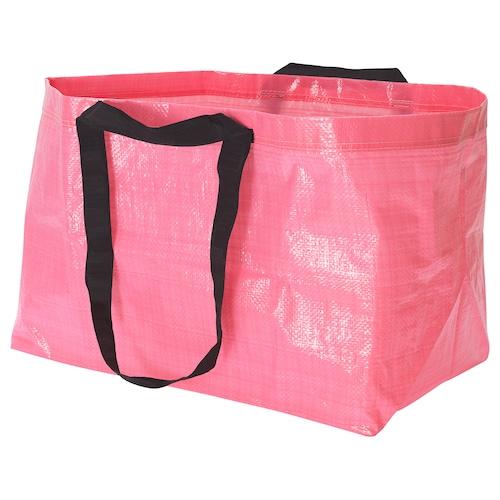 "SLUKIS shopping bag, large pink 21 ¾ "" 13 ¾ "" 14 ½ "" 2401 oz"