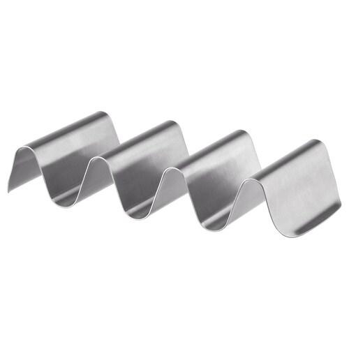 """SMÅKALLT serving stand stainless steel 8 """" 4 """""""
