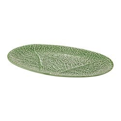 SMAKBIT serving plate, green
