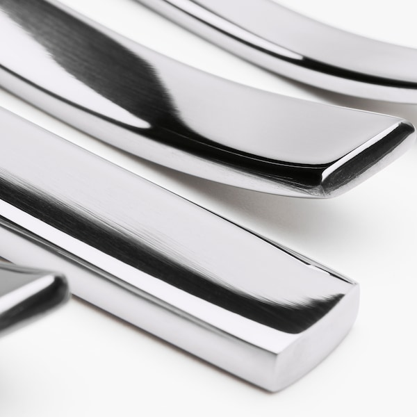 SMAKGLAD 20-piece flatware set stainless steel